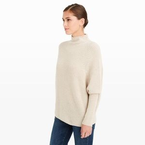 Club Monaco camel beige Emma cashmere sweater
